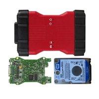 Outils de diagnostic Qualité Full Chip VCM2 Outil multilingue VCM 2 pour le logiciel CD V115 et HDD V119