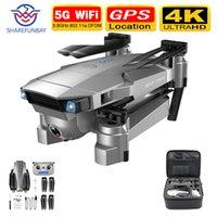 Sharefunbay sg901 / sg907 drone gps hd 4k камера 5g wifi fpv квадрокоптер полета 20 минут видеозапись живой дрон и камера lj200908