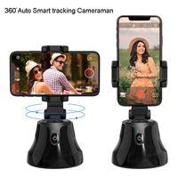 قابلة للشحن الهاتف الذكية selfie عصا 360 ° دوران الهاتف روبوت كاميرامان وجه كائن السيارات تتبع السيارات اطلاق النار حامل الهاتف