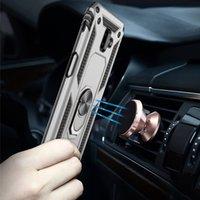 Funda protectora del teléfono magnético de la caja del teléfono anti-gota de la armadura para Samsung Galaxy S7 8 9 10 PLUS S10 S10 5G S20