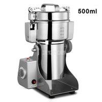 Procesadores de alimentos 500ml Máquina de amoladora seca eléctrica de 500 ml Especias de acero inoxidable Especias de cereal Crusher Coffee Bean Mill Moler RS-FS14011
