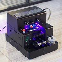 A4 Tamanho da impressora LED UV multifuncional Phone Case Printer Garrafa Golf Ball Pen Cilindro