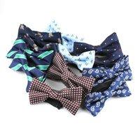 Шелги Шелты для взрослых детей галстук бабочка набор полиэстера жаккарда мужские полосатые бабочки мальчики гриль ребенка