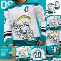 2020-21 Reverse Retro John Gibson Jersey Anaheim Ducks Paul Kariya Rickard Rakell Adam Henrique Hampus Lindolm Ryan Getzlaf Nick Ritchie