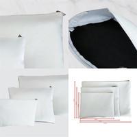 Sublimazione Blank Trucco Borse cosmetici Accessorio nuovo modello Originalità Borse in tela portatile Girl Women 3 Tables Portafogli Bianco 8 5YT M2