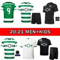 20 21 Sporting Clube de Sporting CP Lissabon Futebol Trikots Phellype 2020 2020 B.fernandes Jerseys de futebol Lisboa Dost Homens Football Jerseys