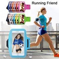 Telefono Sport in esecuzione Bracciale Borsa impermeabile Allenamento Braccio Braccio Portabicchieri per Samsung Huawei Xiaomi iPhone 6 8