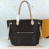 Kvinnors One-Shoulder Bag Handväska Läderproduktion Stor kapacitetsdesign Modig och generös bekväm 2021