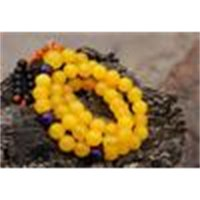 10 boncuk, bilezik, sarı mm yeşim budist 52 +1 diş, meditasyon, yoga, dua boncuk