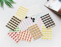 24 Ecke / Blatt DIY Vintage Ecke Kraft Papier Aufkleber für Fotoalben Rahmen Dekoration Scrapbooking