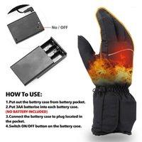 Gants de ski Glovers chauffants chauds batterie électrique rechargeable hiver femmes hommes chauffés1