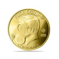 DHL Ship I Sopravvissuto 2021 Silver Commemoratives Copia monete regalo per gli amici collezionisti di famiglia