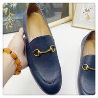 Zapatos de vestir de lujo Pies planos para mocasines de hombre Mujer de cuero de vaca de cuero de vaca zapatos de cuero plana zapatos para mujer.