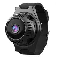 4K HD واي فاي مصغرة كاميرا الذكية ووتش 1080 وعاء ir للرؤية الليلية مسجل فيديو مصغرة كاميرا الفيديو كشف الحركة الصغيرة سوار الذكية