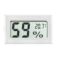 FY-11 미니 디지털 LCD 환경 온도계 습도계 흑백 냉장고 빙하 빙하
