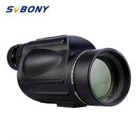 Svbony 10-30x50 Yakınlaştırma Monoküler Teleskop Su geçirmez Porro Prism Yürüyüş Kamp Seyahat için Objektif Düşük Gece Görüş Çoklu kaplamalı