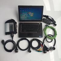 Diagnosewerkzeuge Top bewertet MB Star C4 SD Connect Diagnose Multiplexer mit Software V2021.09 Gebraucht Laptop E6420 CPU HDD Bereit zur Verwendung