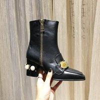 2020 designer boot sexy flock stiefeletten für frauen plattform high heels herbst winter womens kurze boots schnalle