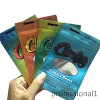 Nuovo imballaggio commestibile risata dei sacchetti Mylar Medibles Edibles Packaging Bianco Runtz Borse Mylar Borse A Protoio Mylar Borse Zip Block Borsa 5345