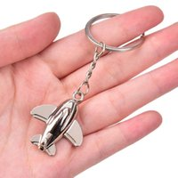 Llavero creativo metal modelo naval regalo de aviación llavero modelo llavero plano aire avión llavero llavero
