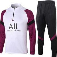 2021 MBAPE White Cavani Red Black Herren Trainingsanzug 18 19 Verratti Icardi Club Warm-up Trainingsanzüge Jacke Training Anzug 20 21