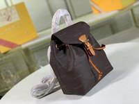 Montsouris BB Leather Women Mini Zaini Lettera in pelle Lettera Blower Zaino Gembed Mens Borse Pattern M45410 M45205 M45397 M45502