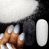 Tırnak Glitter 10g Parlayan Toz Şeker Kaplama Etkisi Süslemeleri Kazak Şeker Toz Noel Kar Tasarım Manikür İpuçları