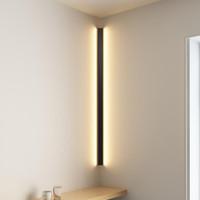 현대 코너 LED 벽 램프 미니멀리스트 실내 전등 벽 Sconces 계단 100cm 150cm 침실 침대 홈 복도 빛