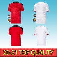 2020 2021 Egitto M.salah 10 Salah Coast Avorio Ghana Morocco Soccer Jerseys 20 21 Casa Away Jersey Camicia da calcio di alta qualità