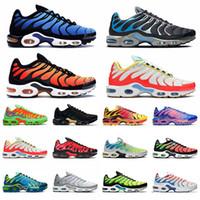 2021 New TN Plus 크기 12 러닝 신발 디자이너 블루 실버 타이거 전압 보라색 활기찬 열대성 망 트레이너 여성 운동화 스포츠 36-46