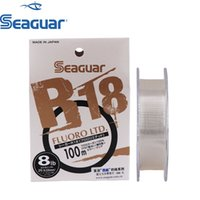 Seeguar R18 Fluor Ltd Angelschnur 3LB-25LB Fluorocarbon Test Kohlefaser Monofilament Carp Wire Leader Line 201228