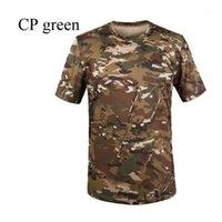 Открытый футболки высокого качества 2021 Sport Esdy Camping Camouflage Camo Soldier Combat быстрая сушка O-шеи джунглей туризм T-Shirts1