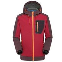 Softshell jaquetas de lã mens inverno à prova de vento impermeável casaco com capuz ao ar livre camping pesca caminhadas jaqueta de chuva caça roupas