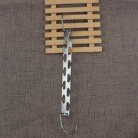 Eisenmantelbügel Edelstahl Zweiseitige einfache Zauberhaus Möbelartikel Multifunktionskleidungsständer Hohe Qualität LX4082