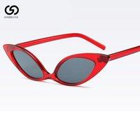 Óculos de sol sexy borboleta bonito gato olho senhoras moda marca mulheres roxo lentes amarelas