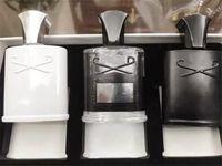 Grupo de fragrância de homens de alta qualidade 3 pçs / set intenso perfume montanha de prata / aventus / verde irlandês 30ml * 3 Frete grátis rápido