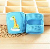Calcetines 1 pares Unisex Bebé Knee Keee Pads Verano Malla transpirable Kneepad Anti Slip Leg Weaver Kids para el regalo de cumpleaños1