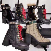 السيدات أحذية قصيرة 100٪ البقر الكلاسيكية الدانتيل النحل النساء أحذية جلدية الدانتيل يصل أحذية عالية الكعب المعادن الأزياء اللؤلؤ أحذية كبيرة الحجم 35-42