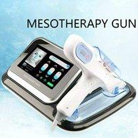 الراديو المحمولة تردد آلة الوجه حقن mesotherapy بندقية meso العلاج آلة بندقية مع سعر جيد استخدام المنزل dhl شحن مجاني