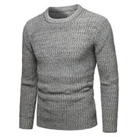 Men's Sweaters Sweater Men Autumn Winter Warm Round Collar Pullover Casual Pull Homme