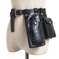 Pacotes de cintura Mulheres desenhador saco de cinto de moda fanny pack bag meninas cute fácil telefone bolso pu couro quente bumbag