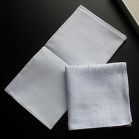 40 см 100% хлопок белый носовой платок мягкий потом поглощение женщины мужские квадратные платок чистый цвет DIY пустой полотенце рождественский подарок
