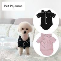 كلب الملابس الصغيرة معطف الحيوانات الأليفة جرو منامة الأسود الوردي الفتيات القلطي bichon تيدي الملابس عيد القطن الصبي البلدغ softfeeling القمصان الشتاء