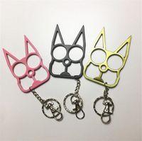 Fashion Women Men Keychain Cute Cat Original Tool Key Chain Key Chain Bottle Opener Screwdriver Outdoor Self-Defense