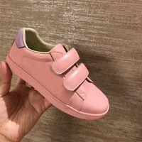A5 Tasarımcılar Lüks Erkek Kız Ayakkabı Moda Çocuk Loafer'lar Çocuk Flats Rahat Tekne Ayakkabı Çocuk Düğün Moccasins Deri Ayakkabı Aalogo