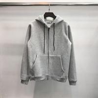 Mens Hoodies Pullover Zipper Capuz Carta Imprimir Moda Moda Europeia Estilo Americano Casal De Lazer Ao Ar Livre Hoodie 3 Cor