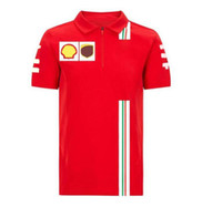 F1 Formula 1 Polo Sport Sport Casual Suit manica corta
