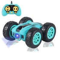 3,7 дюйма автомобиль RC 2.4G 4CH двухсторонний отказов дрейфовый трюк автомобиль рок гусеничный валик автомобиль 360 градусов флип дистанционного управления автомобили детские игрушки 201218