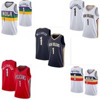 HommesNouveauOrléansPélicansSionWilliamson Basketball Jersey ;; Le swingman est à coudre des chemises de basketball