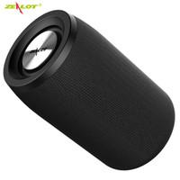 Zealot S32 Bluetooth Speaker Portable FM Radio Aux TF Impermeabile wireless Column all'aperto MP3 Musica BASS BASS Boombox Altoparlanti USB